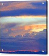 Sunset 8-19-15 Acrylic Print