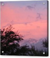 Sunset After Storm Acrylic Print