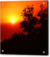 Sunset After The Fire Carlsbad Ca Acrylic Print