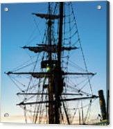 Sunset Ahoy Acrylic Print
