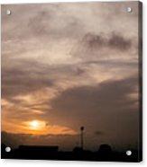 Sunset Ahuachapan 11 Acrylic Print