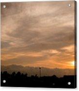 Sunset Ahuachapan 12 Acrylic Print