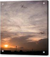Sunset Ahuachapan 14 Acrylic Print