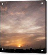 Sunset Ahuachapan 19 Acrylic Print