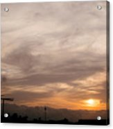 Sunset Ahuachapan 7 Acrylic Print