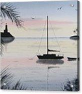 Sunset Anchorage 4 Acrylic Print