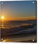 Sunset And The Sea - Cape May New Jersey Acrylic Print