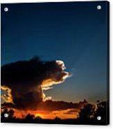 Sunset Anvil Acrylic Print