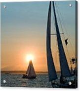 Sunset Apex Acrylic Print