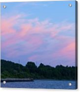 Sunset Aquidneck Island Acrylic Print