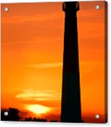 Sunset At Barnegat Lighthouse Acrylic Print