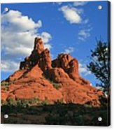 Sunset At Bell Rock Acrylic Print