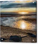 Sunset At Brewster Flats Acrylic Print