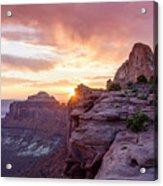 Sunset At Canyonlands Acrylic Print