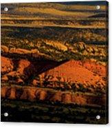 Sunset At Donkey Flats Acrylic Print