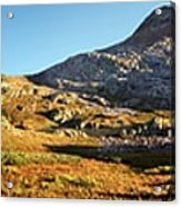 Sunset At Eldorado Lake - Weminuche Wilderness - Colorado Acrylic Print
