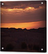 Sunset At Grand Canyon Acrylic Print