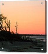 Sunset At James Island Acrylic Print