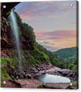 Sunset At Kaaterskill Acrylic Print