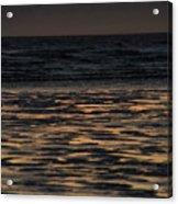 Sunset At Kenai Beach Acrylic Print