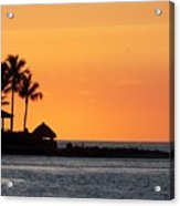 Sunset At Key West Acrylic Print