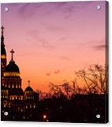 Sunset At Kharkov  Ukraine Acrylic Print