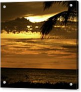 Sunset At Ko'olina Acrylic Print