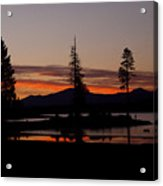 Sunset At Lake Almanor 02 Acrylic Print