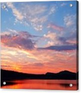 Sunset At Ministers Island Acrylic Print
