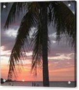 Sunset At Montego Bay Acrylic Print