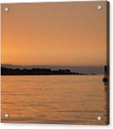 Sunset At Monterey Bay Acrylic Print
