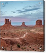 Sunset At Monument Valley No.1 Acrylic Print