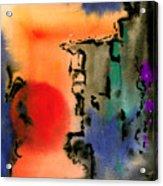 Sunset At Nikko Acrylic Print