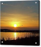 Sunset At Parker River National Wildlife Refuge Acrylic Print