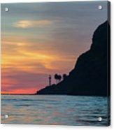 Sunset At Point Loma Acrylic Print