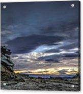 Sunset At Poolburn Reservoir 1 Acrylic Print