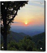 Sunset At Purgatory Mountain Acrylic Print