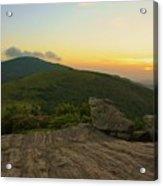 Sunset At Roan Mountain Acrylic Print