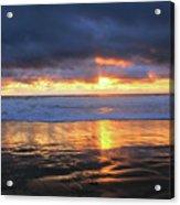 Sunset At Salt Creek Acrylic Print