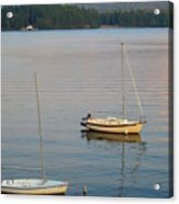 Sunset At Schroon Lake Acrylic Print