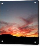 Sunset At Slap Happy Acrylic Print