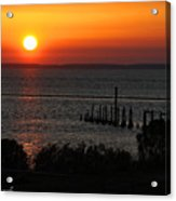 Sunset At St.marks Nwf Acrylic Print
