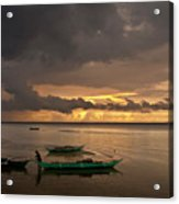 Sunset At Tabuena Beach 1 Acrylic Print
