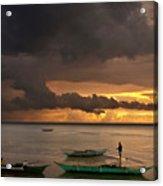 Sunset At Tabuena Beach 2 Acrylic Print