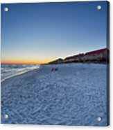 Sunset At The Beach In Florida Acrylic Print