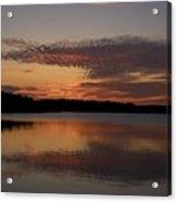 Sunset At The Gulf Of Bothnia 4 Acrylic Print