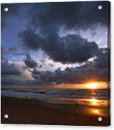 Sunset At The Strand Acrylic Print