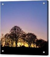 Sunset At Turlough Acrylic Print