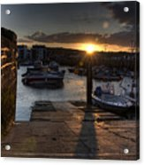 Sunset At West Bay Harbour Acrylic Print