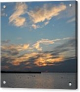 sunset Bay 19 Acrylic Print